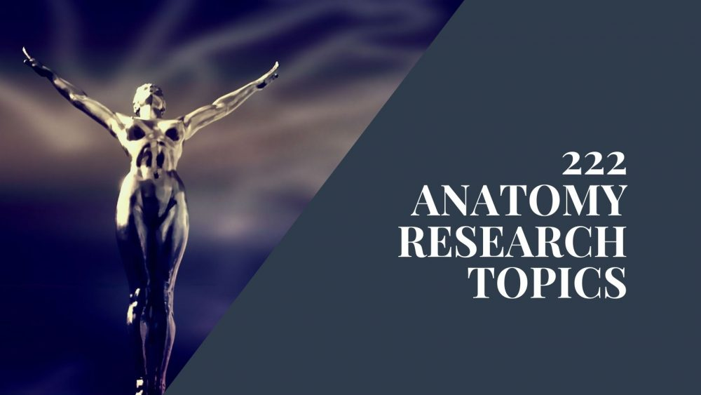 anatomy research topics