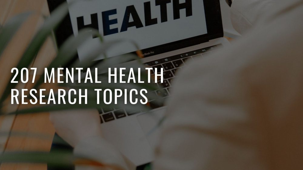 Mental Health Research Topics