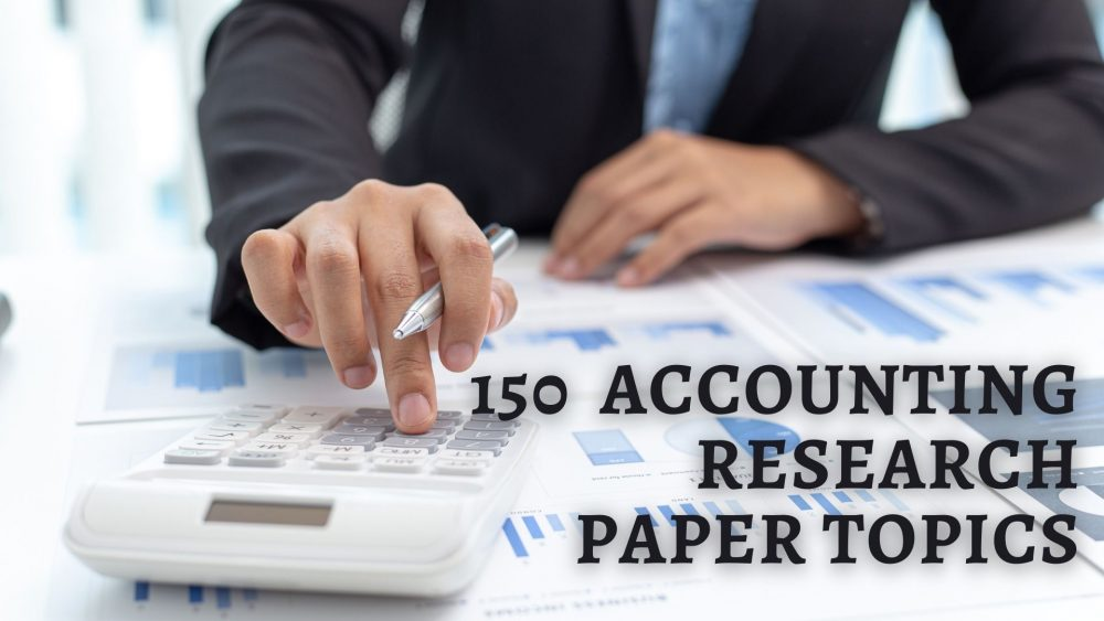 Accounting Research Topics