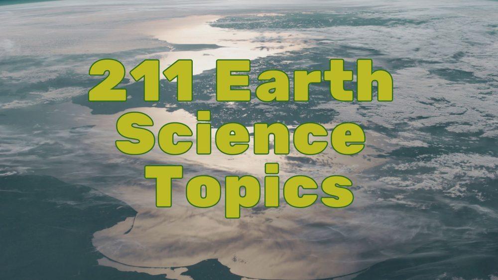 earth science topics